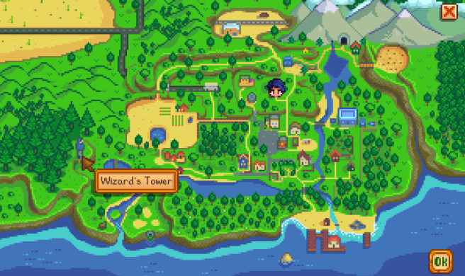 SV Town map